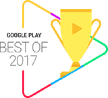 Google Play Best of 2017 ユーザー投票部門 アプリ Top20